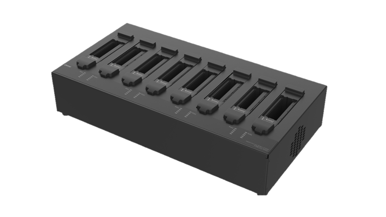 MULTI-BAY BATTERY CHARGER Eight Bay – GCEC*N