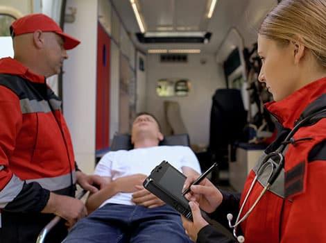 救护车行动定位软体