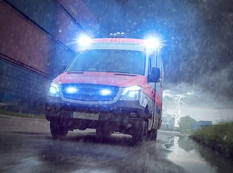 救护车:关键警觉