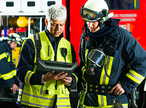 Fire-service-communication